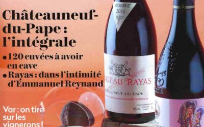 Châteauneuf du Pape est à la Une de la Revue du Vin de France