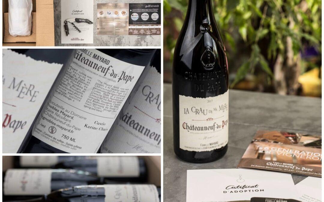 Offrir des vignes de Châteauneuf du Pape, une idée cadeau originale.