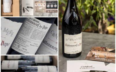 Offer Châteauneuf du Pape vines, an original gift idea.